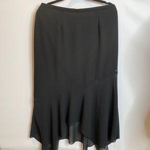 NWT Cartise rosie cheeks black suit skirt 12 XL